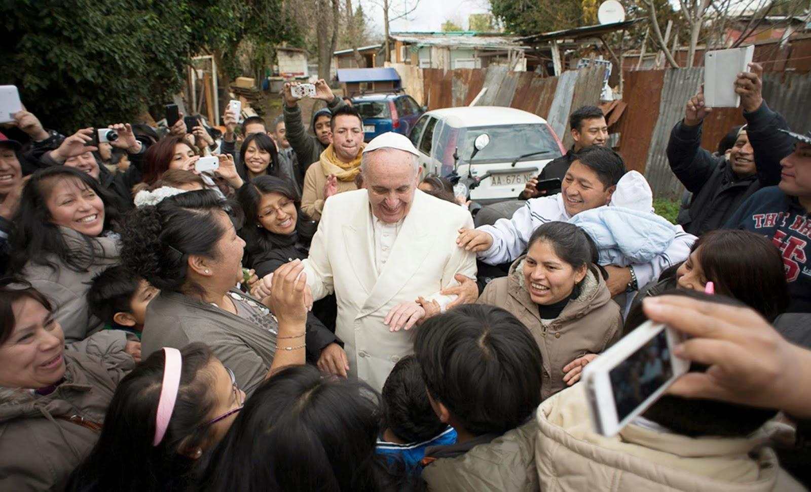 """Francisco: """"Jesús estaba sumamente cerca de la gente, y esto le daba autoridad"""""""