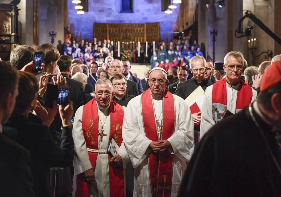 """Las iglesias cristianas de toda Europa admiten los """"dolorosos periodos de división, condena mutua e incluso violencia"""""""
