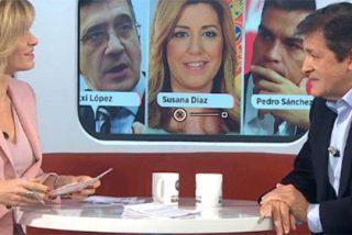Griso, muerta del aburrimiento con Javier Fernández, le saca que todo quisqui se presentará a mandar en el PSOE