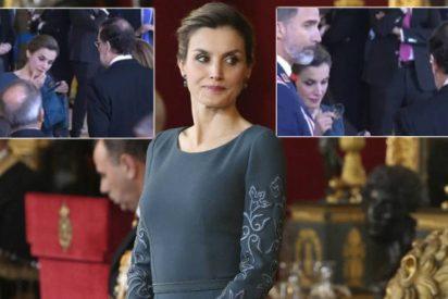 Extraño gesto de la Reina Letizia que le hace la 'Pascua' a Rajoy