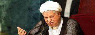 El ex presidente de Irán, Akbar Hashemi Rafsanjani, se reúne con Alá