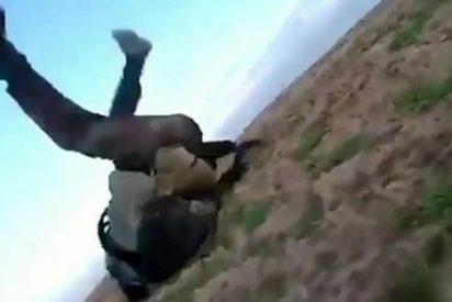 [VÍDEO] La agonía y muerte del saltarín muyahidín de un tiro en los pulmones