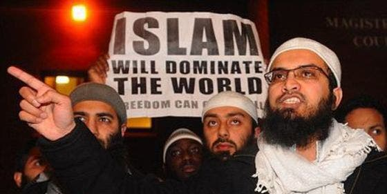 Este acojonante vídeo desvela el verdadero rostro de los pacíficos musulmanes que viven en Europa