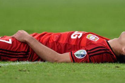 Javier Hernández suma 1200 minutos sin anotar