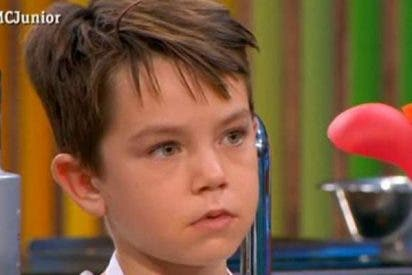 'Masterchef Junior' expulsa a Jefferson, el adorable niño que ha conquistado a todos