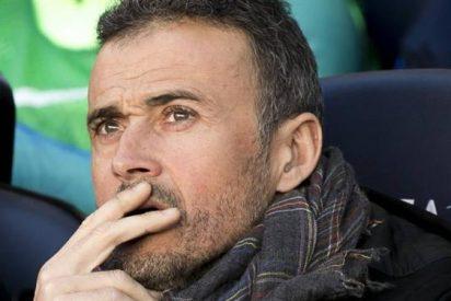 La bronca que se llevó Luis Enrique de gran parte del Camp Nou