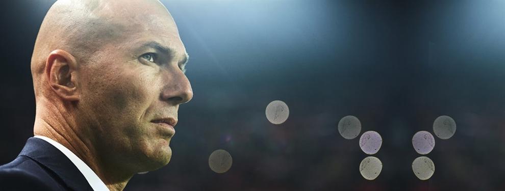 La charla de Zidane con uno de sus cracks para que no se marche (y no es James)
