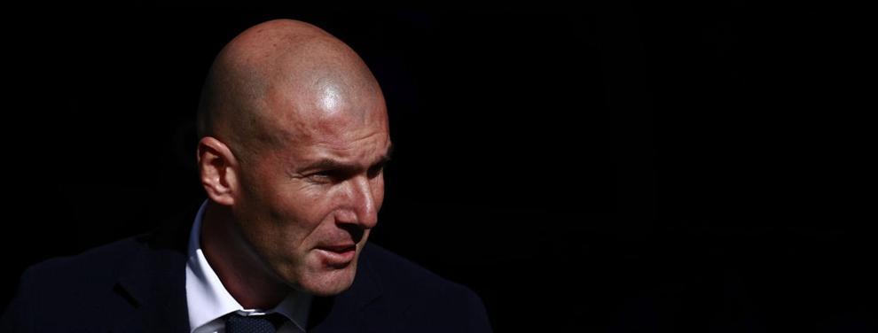 La charla de Zidane en el Sánchez Pizjuán enciende a un sector del vestuario