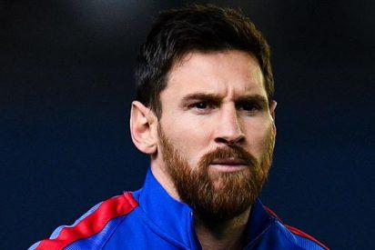 La intensa charla de Messi con un compañero tras ganar a Las Palmas