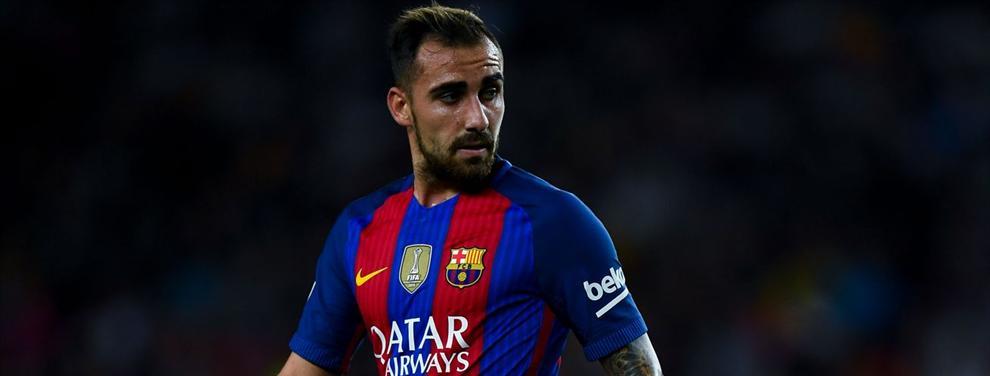 La lista de la compra del Barça para cargarse a Paco Alcácer