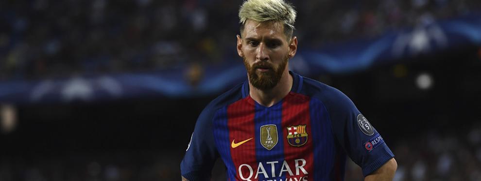 La llamada que calienta la cabeza a Messi para que deje el Barça