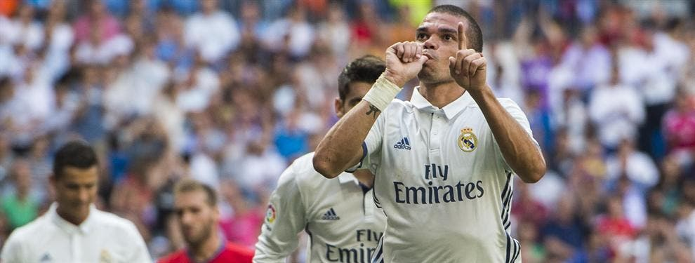 La millonada que le han puesto sobre la mesa a Pepe para dejar el Madrid