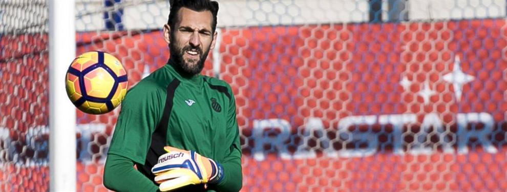 La oferta que aleja a Diego López del Espanyol (y del Milan)