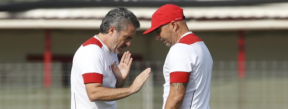 La promesa de Sampaoli a Lillo que no gusta en Sevilla