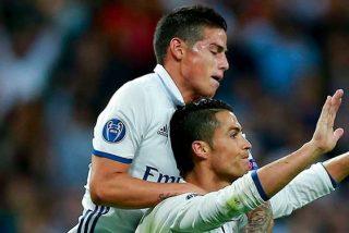 La sorprendente petición de Cristiano Ronaldo a James Rodríguez
