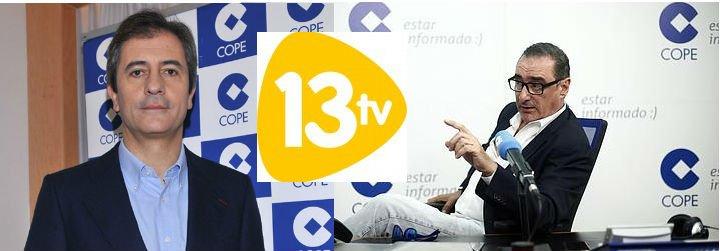 Manolo Lama y Carlos Herrera, bazas de Barriocanal para reflotar 13TV