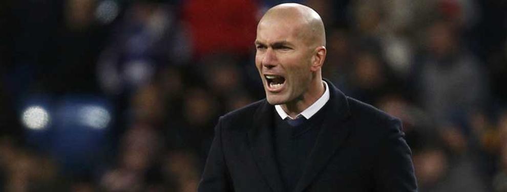 Las dos bombas de Zidane (enfadado) que ponen a cien al vestuario del Madrid
