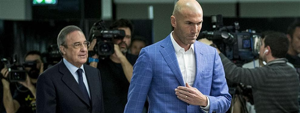 Las patatas calientes (que crecen) y distancian a Zidane y Florentino Pérez