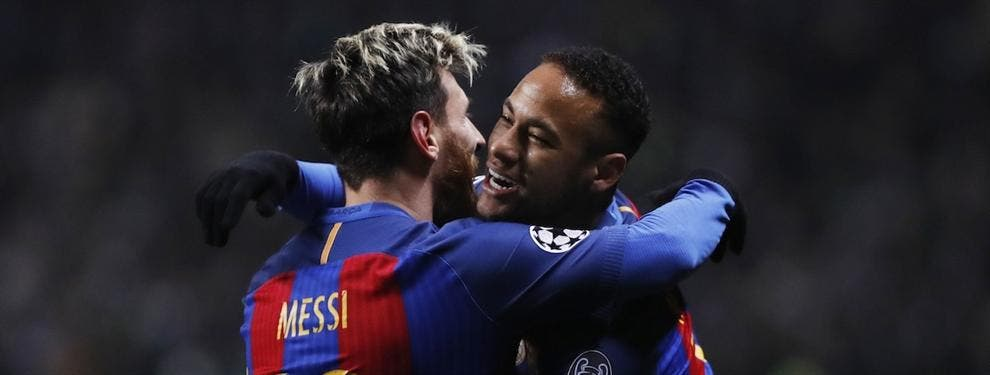 Las sorprendentes palabras de Maradona sobre Neymar y Leo Messi