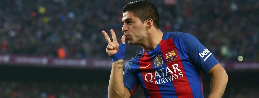 Luis Suárez le 'pinta la cara' a Messi en el Barça con un dato asombroso