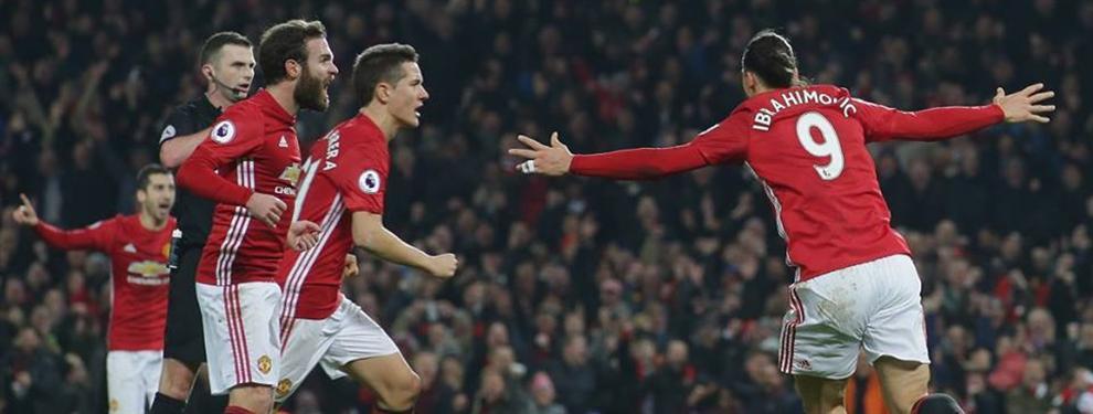 Manchester United le malogró la fiesta a Liverpool