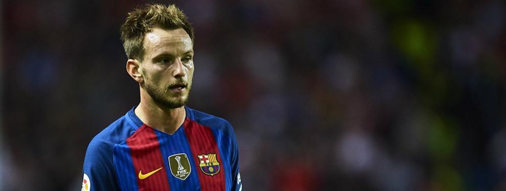 Más lío: El último ataque de celos de Rakitic en el vestuario del Barça