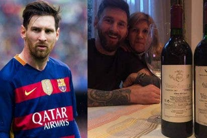 Messi se gasta 2 mil euros en unas botellas de vino