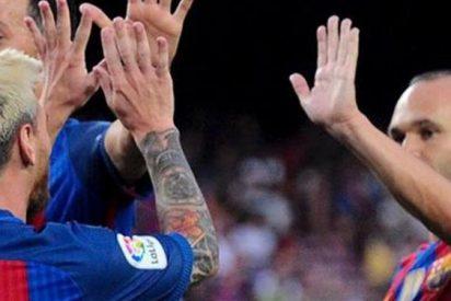 Messi habló seriamente con Iniesta y revolucionó el vestuario del Barcelona