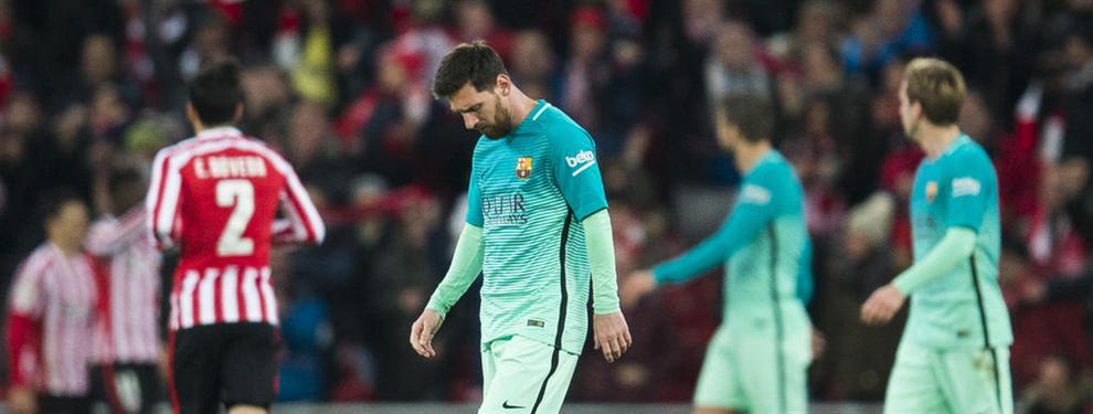 Messi le envió una seria advertencia a Luis Enrique en el último partido