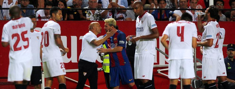Messi le pide a Alexis Sánchez informes sobre Sampaoli