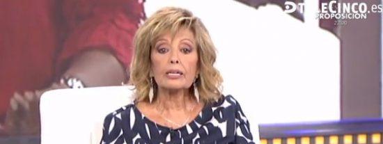 Es tal el cabreo de María Teresa Campos con 'Sálvame' que ha puesto en jaque al programa