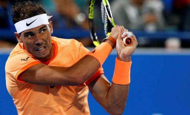 """Rafa Nadal: """"He jugado un partido sólido, me estoy moviendo bien"""""""