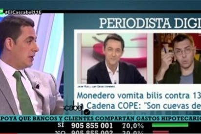 """Naranjo le pone la camisa de fuerza a Monedero: """"Debe ir al psiquiatra para aprender lo que es el odio"""""""