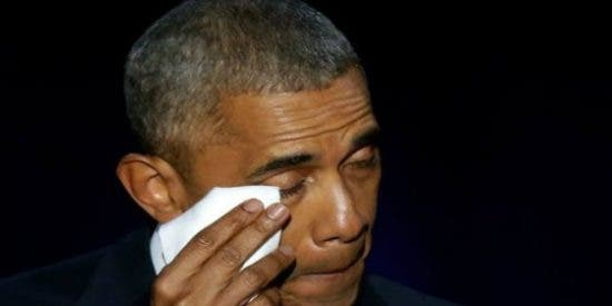 """El lacrimógeno discurso de Barack Obama en su despedida: """"Sí pudimos, sí podemos"""""""