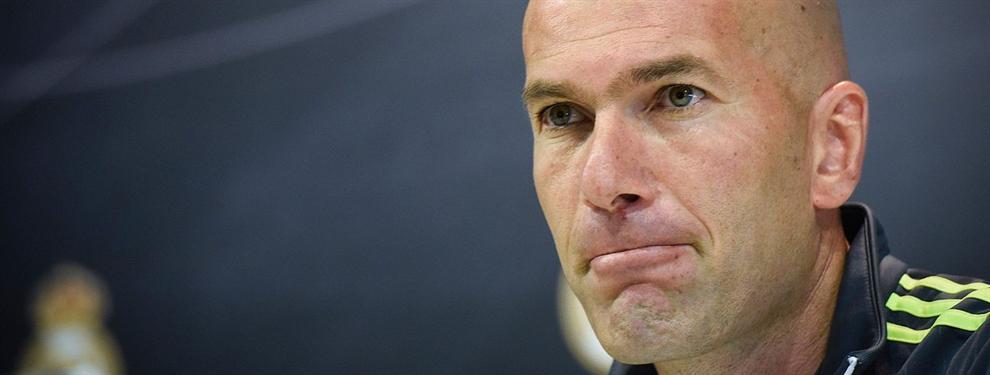 Oferta de locura por un jugador del Madrid (Y Zidane da luz verde)