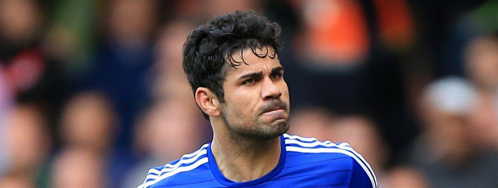 ¡Palo al Atlético! La respuesta del Chelsea al interés por Diego Costa