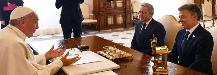 """Uribe: """"El Papa Francisco es la personificación del carisma, es cautivante"""""""