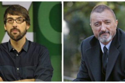 """¡Baja modesto, que sube Peinado! """"Pérez-Reverte debería reinventarse"""""""