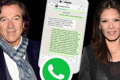 Pepe Navarro: salen a la luz los mensajes que ponen en evidencia a Ivonne Reyes