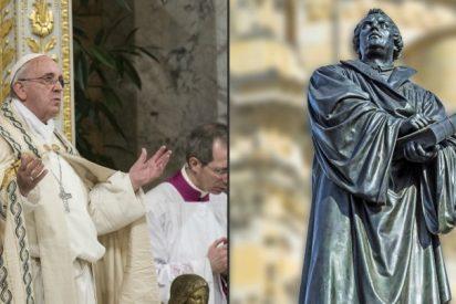 """Francisco: """"La intención de Martín Lutero fue renovar la Iglesia, no dividirla"""""""