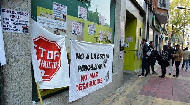 Bankia retirará la denuncia contra cinco activistas de la PAH