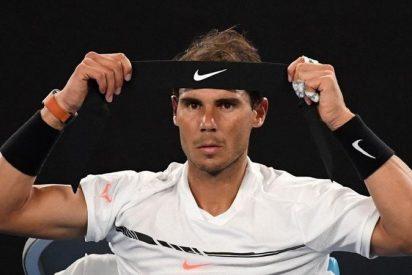 Rafa Nadal tumba a Monfils y esta ya en cuartos del Open de Australia