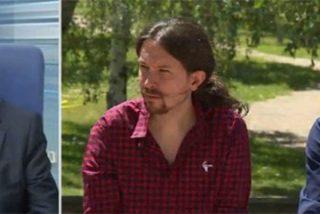 A un 'podemizado' Revilla se le cae la baba con Iglesias y Errejón y les pide consenso