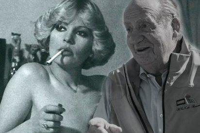 Bárbara Rey recibía a Don Juan Carlos casi desnuda