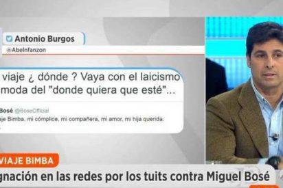 """Fran Rivera llama """"panda de hijos de puta"""" a los que han insultado a su prima Bimba Bosé"""