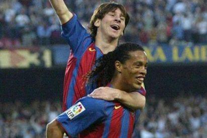 La emotiva carta de Ronaldinho sobre Lionel Messi
