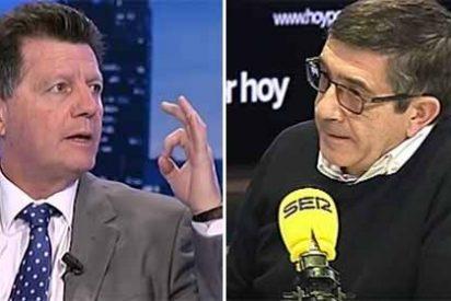 """Alfonso Rojo: """"Patxi López es un desastre para el PSOE, es lo más sectario que te puedes echar a la cara"""""""