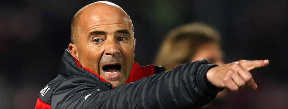 Sampaoli 'le da la patada' a un jugador importante del Sevilla (por sorpresa)