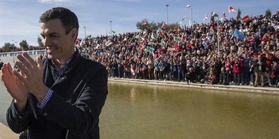 Pedro Sánchez se decidió a echarse a la carretera tras recibir una llamada de teléfono cruel
