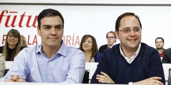 Pedro Sánchez todavía no ha digerido la traición de César Luena
